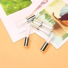 <b>5pcs</b>/<b>Lot</b> 1.2ML Mini Empty Plastic <b>Clear</b> Lipstick Tube Balm Bottle ...