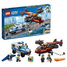 <b>Конструктор LEGO</b> City Police 60209 <b>Воздушная полиция</b>: кража ...