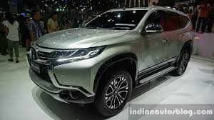 new car launches in early 2015New Mitsubishi Pajero Sport to launch in India in 2017