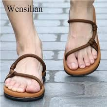 Buy <b>mens summer sandals shoes roman gladiator</b> and get free ...