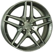 19 inch ENEA Wheels 2x 19X8.5 + 2x 19X9.5 MERCEDES S ...