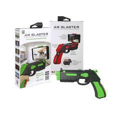 Интерактивный пистолет <b>1Toy AR Blaster</b>, зеленый, артикул ...