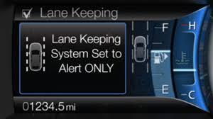 Kết quả hình ảnh cho cảnh báo lệch làn đường ford ranger