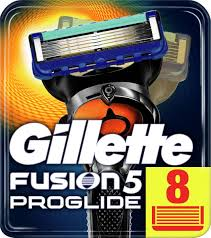<b>Gillette</b> Сменные <b>Кассеты</b> Fusion5 <b>ProGlide</b> для мужской бритвы ...