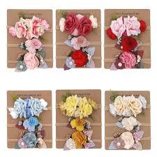 <b>3 Pcs</b>/<b>Lot</b> Newborn Baby Headband Flower Baby Girl Headbands ...