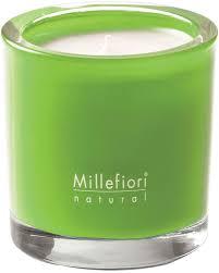 <b>Ароматическая свеча</b> Зеленый Инжир и Ирис Millefiori Milano ...