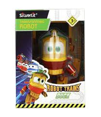 Машина <b>Robot Trains</b> (<b>Silverlit</b>) <b>Трансформер</b> Утенок, 10 см