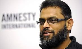 "... in London in solidarity with human rights campaigner Moazzam Begg following his ""politicised"" arrest on terror charges last week. Sara Chaudhry reports. - Moazzam-Begg-640-300x180"
