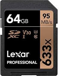 <b>Lexar</b> Professional 633x <b>64GB</b> SDXC UHS-I <b>Card</b> ...