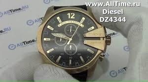 Обзор. <b>Мужские</b> наручные <b>часы Diesel DZ4344</b> с хронографом ...