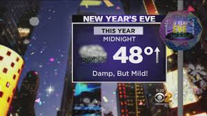 Temps Looking Mild For New Year