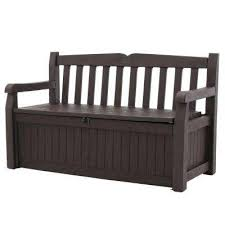 Outdoor <b>Storage Benches</b> - Outdoor Storage - The Home Depot