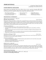 food service manager resume examplesfood service manager resume food service manager resume samples service manager service manager resume examples