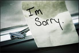 Image result for sorry