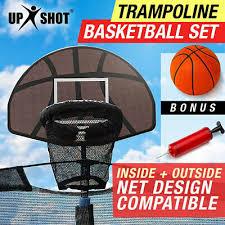 【EXTRA 10%OFF】<b>Trampoline Basketball Hoop Ring</b> Backboard ...