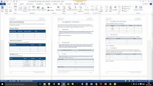 acquisition plan template ms word excel document history and screenshots of the chapter 1 the introduction to the acquisition plan