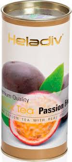 <b>Чай черный HELADIV HD</b> PASSION FRUIT 100 gr Round P.T. ...