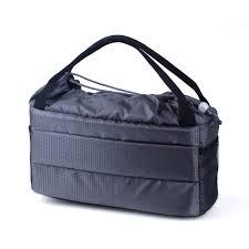 Portable DSLR Camera Inner Bag <b>Insert Partition Padded</b> Bag ...