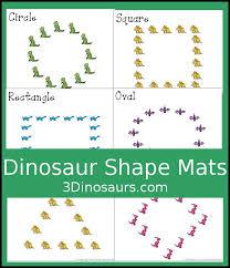 Free Fun <b>Hands</b>-On <b>Dinosaur Shape</b> Mats - 10 <b>shape</b> mats for kids ...
