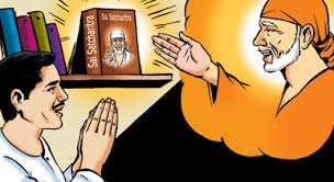 Image result for images of baba giving sat charitra