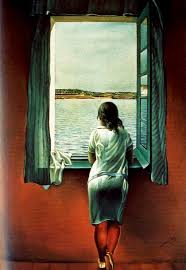 Resultado de imagem para salvador dali girl at the window