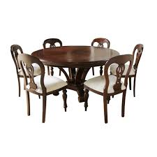 Chippendale Dining Room Table Admiralty Round Mahogany Dining Table With Inlay Dining Room