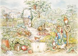 <b>7x5FT Happy Easter</b> Farm Garden Animals Goose Peter Rabbit ...