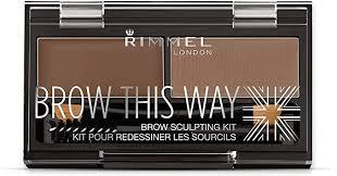 <b>Rimmel</b> London <b>Brow This Way</b> Eyebrow Powder Sculpting Kit ...