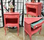 Coral Jenny Lind 1-Drawer Nightstand The Land of Nod
