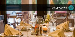The Formal Place Setting - The Emily Post Institute, Inc.