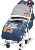 <b>Санки</b>-<b>Коляска Nika Disney</b> baby 2 (DB2) с Микки Маусом синий ...