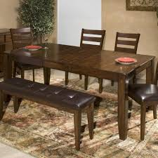 expandable dining table ka ta: intercon kona dining table with butterfly leaf item number ka ta b
