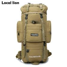 HOT 85L <b>Professional</b> Climbing Backpack <b>Outdoor Sport</b> Hiking ...