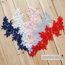 <b>10 Pcs Wedding Dress Lace</b> Trim Patch Applique Lace Fabric DIY ...