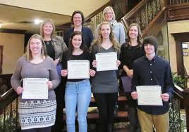 dctc recognizing job shadowing program participants jacob kowalski above mentor juliann haverlock and others from brown elementary