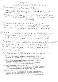 arcadia high school algebra files worksheet chapter 13 test 2 review