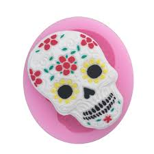 <b>Halloween</b> Skull Shape <b>Silicone Cake</b> Mold,Non Stick 3D Bakeware ...