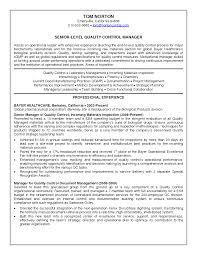 resume for chemist resume skills format sle quality manager cover letter resume for chemist resume skills format sle quality manager manufacturing plant monster control resumesqc