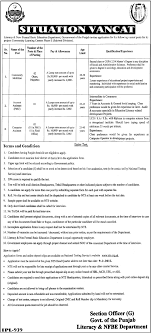 account assistant pmu job literacy and non formal basic account assistant pmu job literacy and non formal basic education department sahiwal job community mobilizer computer assistant