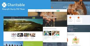Charitable - Nonprofit Organization PSD Theme by CleverSoft ...