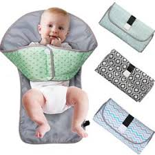 3-IN-1 Baby Changing Pad Foldable Waterproof Clean ... - Vova