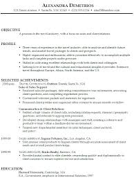 Sales Associate Resume Objective Examples   pharmaceutical sales resume example