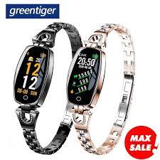 Greentiger Women <b>Z18</b> Smart Watch Fashion Girl Friend Gift <b>Heart</b> ...