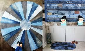 How To Make A Blue Jean Rug, 11 Unique Ways - Pillar Box Blue