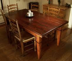 Custom Wood Dining Room Tables Farmhouse Table Farmhouse And Tables On Pinterest