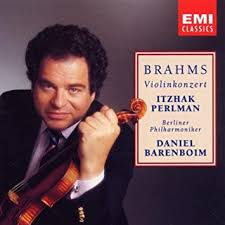 <b>Brahms</b>: Violin Concerto ~ Barenboim / <b>Perlman</b>