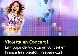 """Résultat de recherche d'images pour """"violetta concert"""""""