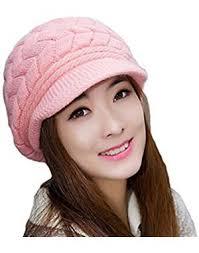 Krystle Women's|<b>Girl's Winter</b> Warm Knit Hat Wool <b>Snow Ski</b> Caps ...