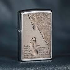 <b>Zippo Footprints</b> | <b>Зажигалка</b>, Отпечатки стоп, Пески