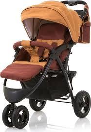 <b>Коляска прогулочная BabyHit Voyage</b> Air, цвет: коричневый ...